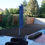 Vorbereitung für den Rasen 2013