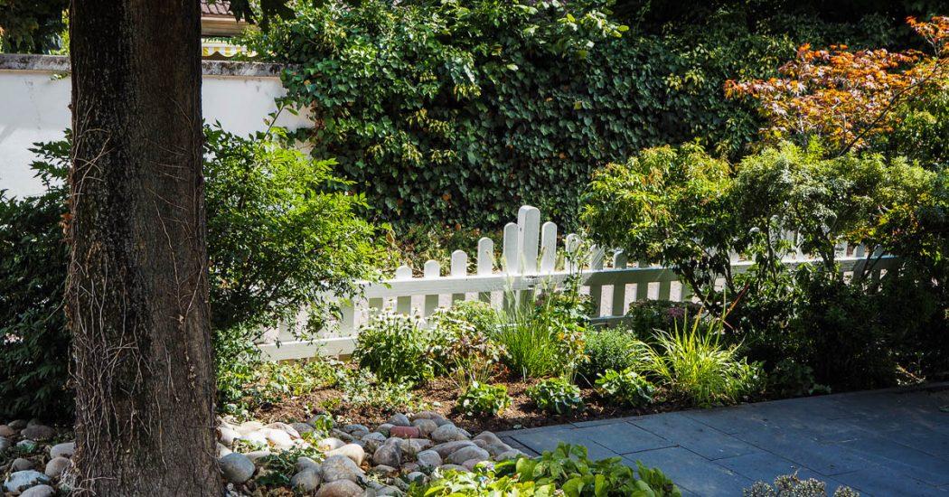 Staudenbeet Vorgarten