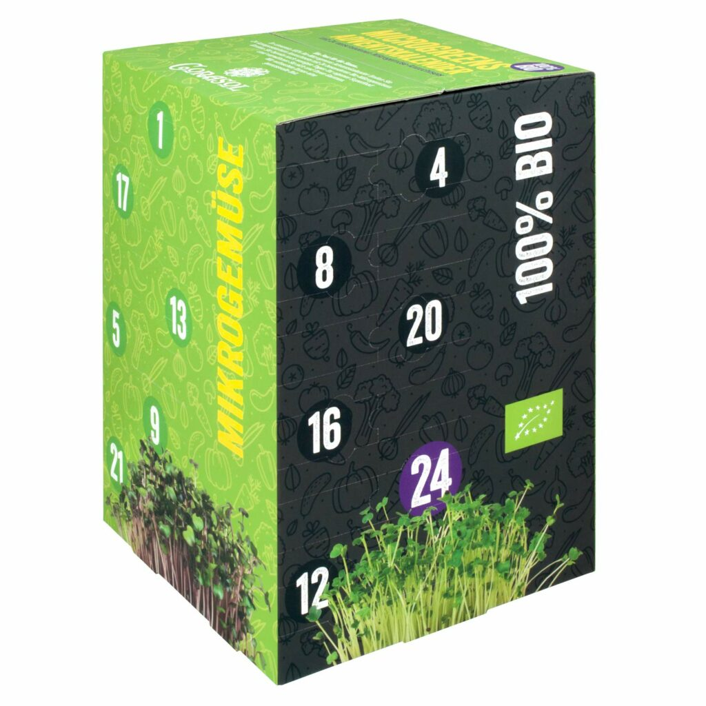 Microgreens Adventskalender