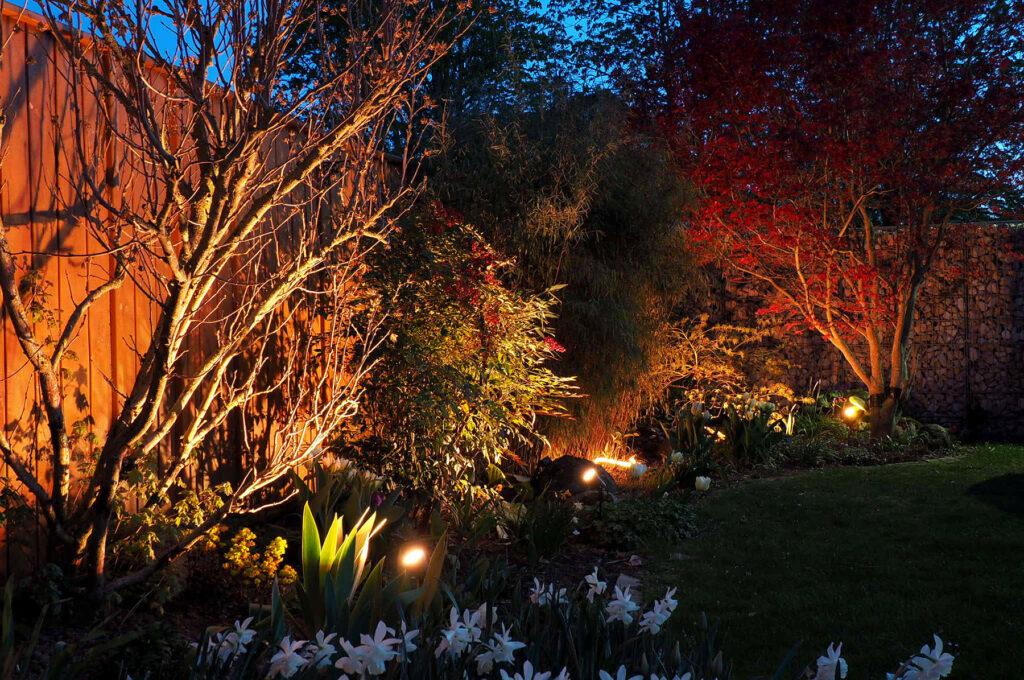 Smarte Gartenbeleuchtung mit Innr